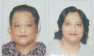 Sofia and her mother, Shamshad Akhtar